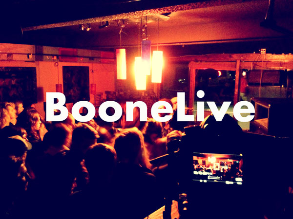About BooneLive - Recording Live Music in Boone, NC