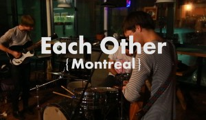 Each Other – Live at Espresso News