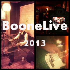 BooneLive & Live Music in 2013